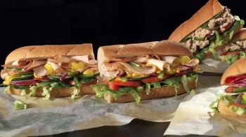 Subway Turkey TV Spot, 'Buy One Footlong, Get One 50% Off'
