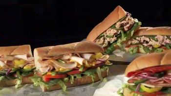 Subway Turkey TV Spot, 'Buy One Footlong, Get One 50% Off' - Thumbnail 7