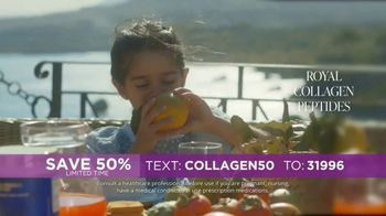 Bruno MD Royal Collagen Peptides TV Spot, 'Advanced Collagen Health: Save 50%' - Thumbnail 3