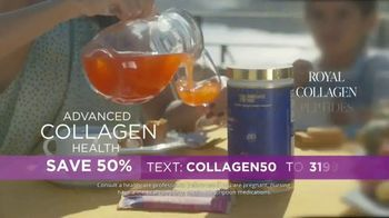 Bruno MD Royal Collagen Peptides TV Spot, 'Advanced Collagen Health: Save 50%' - 6 commercial airings