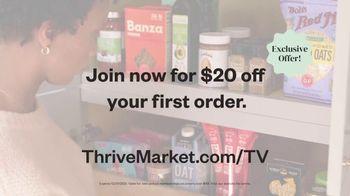 Thrive Market TV Spot, 'Don't Break the Bank: $20 Off First Order' - Thumbnail 8