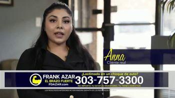 Franklin D. Azar & Associates, P.C. TV Spot, 'Cliente real: Anna' [Spanish]