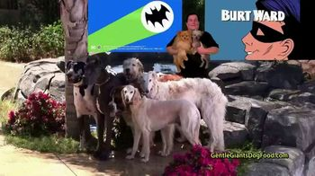 Gentle Giants Dog and Puppy Food TV Spot, 'Nothing More Precious Than Life' Featuring Burt Ward - 6 commercial airings