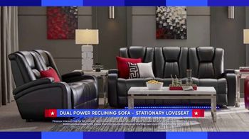 Rooms to Go Labor Day Sale TV Spot, 'Reclining Sofa and Stationary Loveseat' - Thumbnail 3
