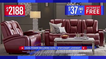 Rooms to Go Labor Day Sale TV Spot, 'Reclining Sofa and Stationary Loveseat' - Thumbnail 4