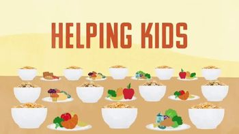 Kellogg's TV Spot, 'No Kid Hungry and Food Network Team Up'
