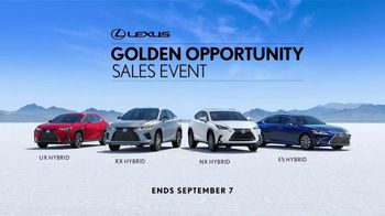 Lexus Golden Opportunity Sales Event TV Spot, 'Hybrid: No Signal' [T1] - Thumbnail 10