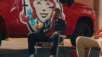 Wendy's Breakfast Croissants TV Spot, 'Unbelievable Breakfast Facts With Reggie Bush' - Thumbnail 6