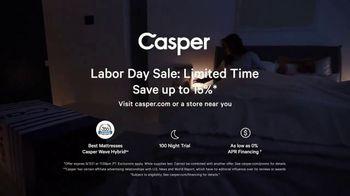 Casper Labor Day Sale TV Spot, 'Delivering Better Sleep: 15% Off' - Thumbnail 9