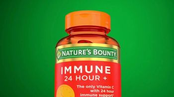 Nature's Bounty Immune 24 Hour+ TV Spot, 'Longer Lasting'