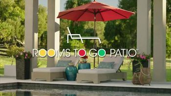 Rooms to Go Patio Labor Day Sale TV Spot, 'Outdoor Dining Sets, Seating and More' - Thumbnail 1