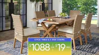 Rooms to Go Patio Labor Day Sale TV Spot, 'Outdoor Dining Sets, Seating and More' - Thumbnail 10