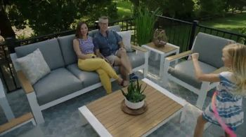 Rooms to Go Patio Labor Day Sale TV Spot, 'Outdoor Dining Sets, Seating and More' - Thumbnail 3