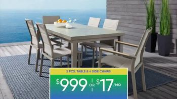 Rooms to Go Patio Labor Day Sale TV Spot, 'Outdoor Dining Sets, Seating and More' - Thumbnail 4