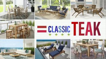 Rooms to Go Patio Labor Day Sale TV Spot, 'Outdoor Dining Sets, Seating and More' - Thumbnail 6