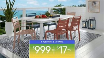 Rooms to Go Patio Labor Day Sale TV Spot, 'Outdoor Dining Sets, Seating and More' - Thumbnail 7