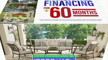 Rooms to Go Patio Labor Day Sale TV Spot, 'Outdoor Dining Sets, Seating and More' - Thumbnail 9