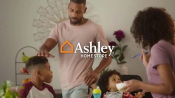 Ashley HomeStore Labor Day Preview Sale TV Spot, 'Family Breakfast: Up to 30% Off' - Thumbnail 1