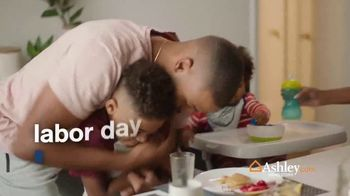 Ashley HomeStore Labor Day Preview Sale TV Spot, 'Family Breakfast: Up to 30% Off' - Thumbnail 2