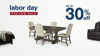 Ashley HomeStore Labor Day Preview Sale TV Spot, 'Family Breakfast: Up to 30% Off' - Thumbnail 4
