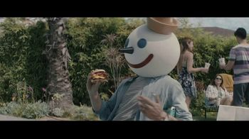 Jack in the Box BBQ Bacon Double Cheeseburger Combo TV Spot, 'Cannonball: $6.49' Ft. King Bach - Thumbnail 1
