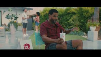 Jack in the Box BBQ Bacon Double Cheeseburger Combo TV Spot, 'Cannonball: $6.49' Ft. King Bach - Thumbnail 3