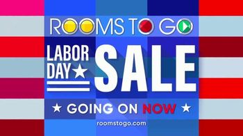 Rooms to Go Labor Day Sale TV Spot, '2-Piece Sectional' - Thumbnail 7