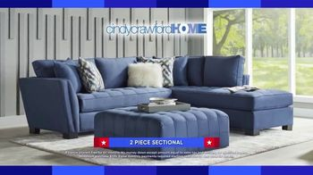 Rooms to Go Labor Day Sale TV Spot, '2-Piece Sectional' - Thumbnail 3