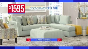 Rooms to Go Labor Day Sale TV Spot, '2-Piece Sectional' - Thumbnail 4