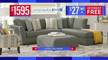 Rooms to Go Labor Day Sale TV Spot, '2-Piece Sectional' - Thumbnail 5