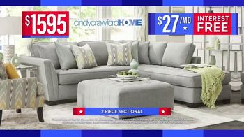 Rooms to Go Labor Day Sale TV Spot, '2-Piece Sectional' - Thumbnail 6