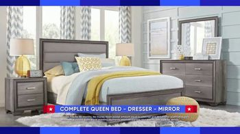 Rooms to Go Labor Day Sale TV Spot, 'Complete Queen Bedroom Set' - Thumbnail 2