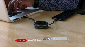 Doohickey Magnet Cable Organizer TV Spot, 'Neat and Tidy' - Thumbnail 2