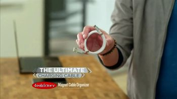 Doohickey Magnet Cable Organizer TV Spot, 'Neat and Tidy' - Thumbnail 3