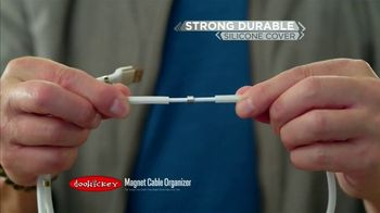 Doohickey Magnet Cable Organizer TV Spot, 'Neat and Tidy' - Thumbnail 6