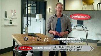 Doohickey Magnet Cable Organizer TV Spot, 'Neat and Tidy' - Thumbnail 8