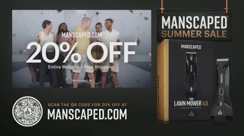 Manscaped Summer Sale TV Spot, '20% Off Sitewide and Free Shipping' Song by The Originals - 242 commercial airings