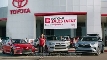 Toyota National Sales Event TV Spot, 'Open New Doors' Song by Max Manie [T1] - Thumbnail 1