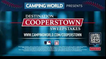 Camping World TV Spot, 'Destination Cooperstown Sweepstakes' - Thumbnail 8