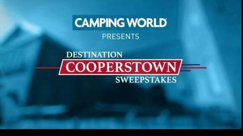 Camping World TV Spot, 'Destination Cooperstown Sweepstakes' - Thumbnail 4