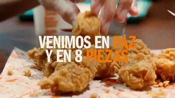 Popeyes Chicken Nuggets TV Spot, 'Nosotros venimos en pieza' [Spanish] - Thumbnail 3