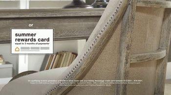 Ashley HomeStore Summer Closeout Sale TV Spot, '40% Off Outdoor Furniture: Rewards Card' - Thumbnail 6
