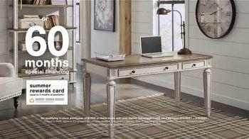 Ashley HomeStore Summer Closeout Sale TV Spot, '40% Off Outdoor Furniture: Rewards Card' - Thumbnail 7