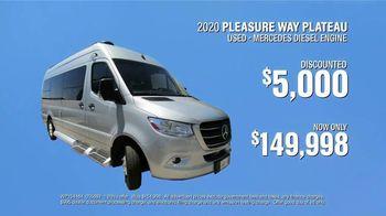 La Mesa RV TV Spot, 'Cool Off: 2020 Pleasure Way Plateau' - Thumbnail 8