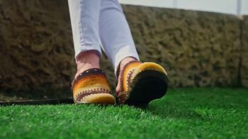 Reba by Justin TV Spot, 'Clogs Inspired by Saddle Blankets' - 3 commercial airings