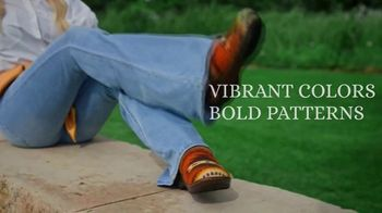 Reba by Justin TV Spot, 'Clogs Inspired by Saddle Blankets' - Thumbnail 4