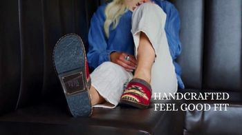 Reba by Justin TV Spot, 'Clogs Inspired by Saddle Blankets' - Thumbnail 5
