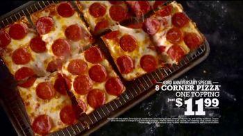 Jet's Pizza 43rd Anniversary Special TV Spot, 'Eight-Corner Pizza: $11.99' - Thumbnail 9