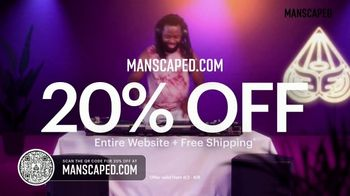 Manscaped TV Spot, '20% Off Sitewide and Free Shipping' - Thumbnail 2