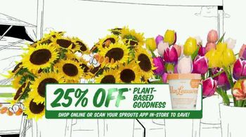 Sprouts Farmers Market TV Spot, 'Everything You Love: 25% Off' - Thumbnail 4